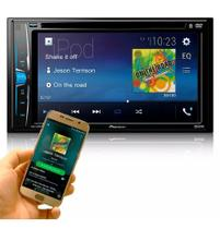 Dvd Automotivo Pioneer Avh-a208bt 6.2 Pol Bluetooth Usb Aux