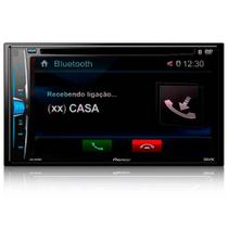 "DVD Automotivo Pioneer AVH-A208BT, Preto, Tela de 6.2"", Bluetooth, USB -"