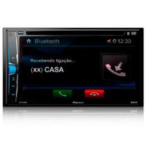 DVD Automotivo Pioneer AVH-A208BT, Preto, Tela de 6.2, Bluetooth, USB