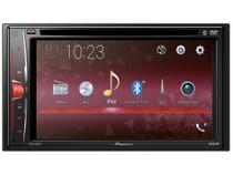 "DVD Automotivo Pioneer AVH-A218BT com Bluetooth - LCD 6,2"" Touch Câmera de Ré 23 Watts RMS USB"