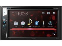 "DVD Automotivo Pioneer AVH-G228BT Bluetooth - Touch 6,2"" 23W RMS USB Auxiliar"