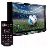 DVD Automotivo Pioneer AVH-X598TV, Preto, Tela de 7