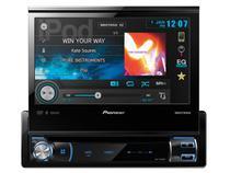 "DVD Automotivo Pioneer AVH-X7580BT Retrátil - Tela 7"" Bluetooth 3.0 Entrada Auxiliar e USB"
