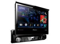 "DVD Automotivo Pioneer AVH-X7880TV Tela 7"" - Retrátil Bluetooth 23 Watts RMS Entrada USB"