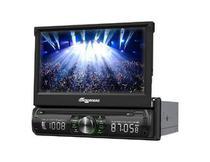 """DVD Automotivo Quatro Rodas e Aquarius MTC6617, Preto, Tela de 7"""", Bluetooth, USB -"""