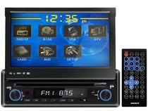 "DVD Automotivo Sunfire XDV-710 DT TV Digital - Tela Touch Retrátil 7"" USB e Auxiliar Frontal + SD"