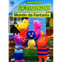 DVD - Backyardigans - Mundo da Fantasia - Log On