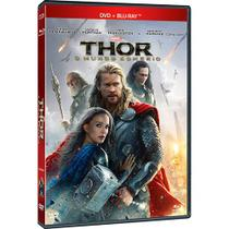 DVD + Blu-Ray - Thor O Mundo Sombrio - Sony pictures
