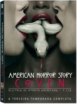DVD Box - American Horror Story: Coven - 3ª Temporada Completa - Legendado - Fox filmes