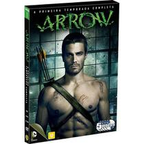 DVD Box - Arrow - 1 Temporada Completa (5 discos) - Warner bros.