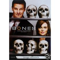 DVD Box - Bones - Quarta Temporada Completa (6 Discos) - LEGENDADO - Fox filmes