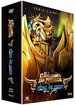 Dvd - Box Cavaleiros do Zodiaco Alma De Ouro Completo - playarte