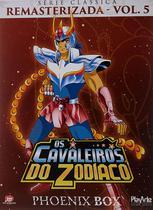 Dvd - Box Cavaleiros do Zodiaco Remasterizado Phoenix - playarte