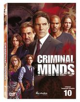 DVD Box - Criminal Minds - 10 Temporada - legendado - Disney