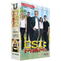 DVD Box - CSI: Miami - 2ª Temporada Vol. 2 - Legendado - Playarte