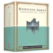 DVD Box Downton Abbey - 1ª A 5ª Temporada - 19 Discos - Universal studios