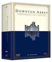 DVD Box - Downton Abbey - Temporada 1 a 4 Temporada - Universal studios