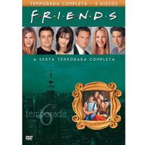 DVD Box - Friends - 6 Temporada Completa - LEGENDADO (4 Discos) - Warner bros.