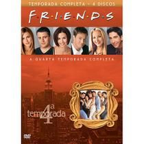 DVD Box - Friends - Quarta Temporada Completa - LEGENDADO (4 Discos) - Warner bros.