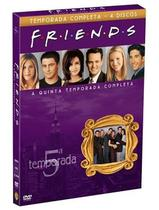 DVD Box - Friends - Quinta Temporada Completa - LEGENDADO (4 Discos) - Warner bros.