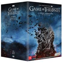DVD Box - Game Of Thrones -  A Série Completa - Warner Bros.