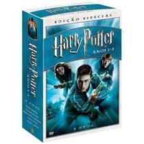Dvd Box Harry Potter Anos 1 - 5 - 6 Discos - Warner home video