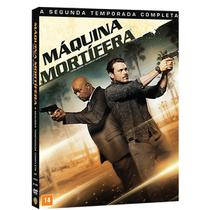 DVD Box -  Máquina Mortífera 2ª Temporada - Warner Bros.
