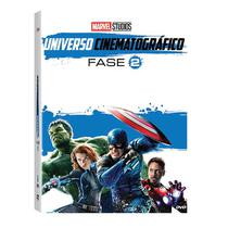 DVD BOX - Marvel Universo Cinematográfico: Fase 2 - Disney