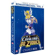 DVD Box - Os Cavaleiros Do Zodíaco:Série Remasterizada Cygnus Box - Vol 3. - Playarte