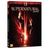 DVD Box - Supernatural 13ª Temporada - Warner Bros.