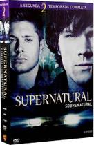 DVD Box - Supernatural - 2ª Temporada Completa - 6 Discos - Warner bros.