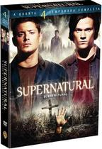 DVD Box - Supernatural - 4ª Temporada Completa - 6 Discos - Warner Bros.