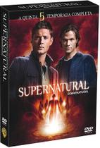 DVD Box - Supernatural - A 5ª Temporada Completa (6 Dvds) - Warner bros.