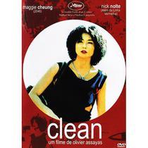DVD - Clean - Legendado (Califórnia Filmes) -