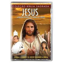 DVD Coleção Bíblia - Jesus A Maior História de Todos Tempos  + DVD Coleção Bíblia Sagrada - Maria Madalena - NBO