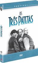 DVD Coleção Festival Os Três Patetas - 4 Discos - Vinyx Multimídia