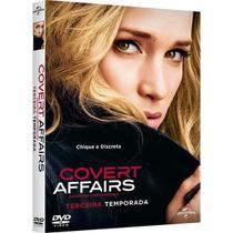 DVD - Covert Affairs - 3ª Temporada (4 Discos) - Universal