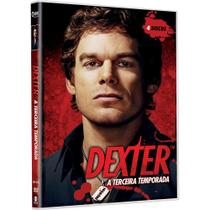 DVD - Dexter - 3ª Temporada - Legendado - Paramount filmes
