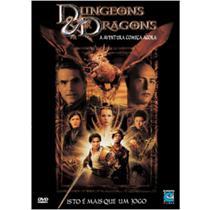 DVD - Dungeons & Dragons - A Aventura Começa Agora - Europa