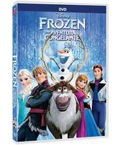 DVD - Frozen - Uma Aventura Congelante - Disney