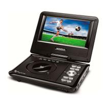 DVD Game Mondial D-08 Portátil Play Action com Tela LCD 7 Entrada USB e SD e Função Game
