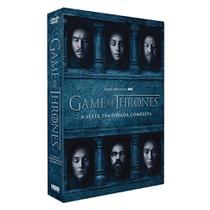 Dvd - Game Of Thrones - A 6ª Temporada Completa - Warner