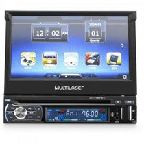 DVD GPS Retratil 7 Bluetooth c/ Tv Digital EXTREME Preto MULTILASER
