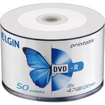 DVD Gravavel Printable DVD-R 4.7GB/120MIN/16X Tubo com 50 - GNA