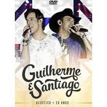 DVD Guilherme e Santiago - Acústico - 20 Anos - Radar