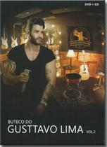 Dvd Gusttavo Lima - Buteco do Vol.2- Kit (dvd+cd) - Som Livre