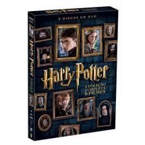 DVD - Harry Potter - A Coleção Completa (8 Discos) - Warner bros.
