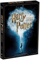 DVD Harry Potter - A Coleção Completa 8 Filmes (8 DVDs) - Warner home video