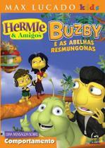 Dvd hermie e amigos - buzby e as abelhas resmungonas - Armazem