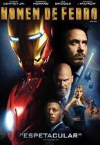 DVD Homem de Ferro Robert Downey Jr. - Universal